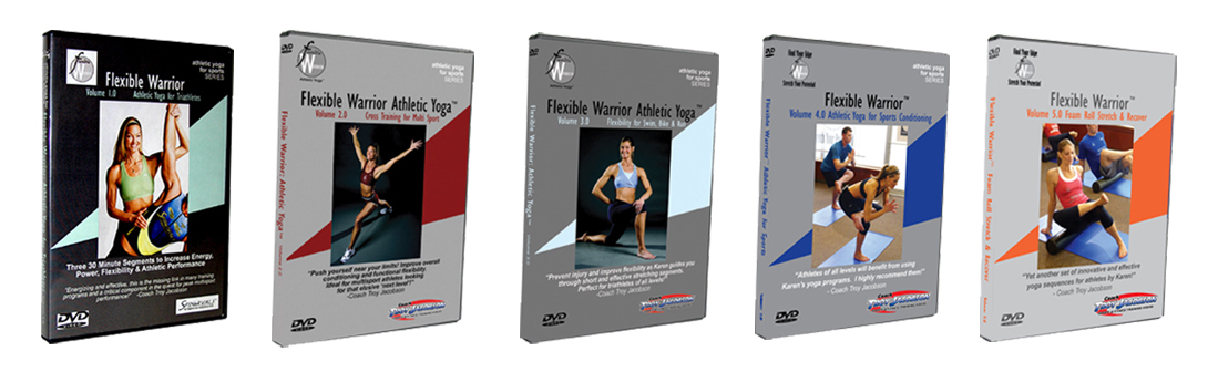 Flexible Warrior ATHLETIC YOGA VOL 1-5