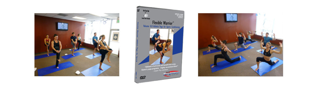 Flexible Warrior ATHLETIC YOGA VOL 4 product