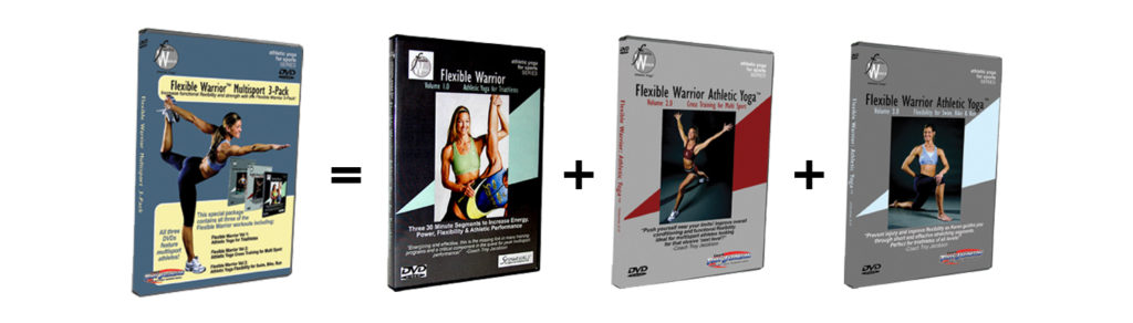 Flexible Warrior ATHLETIC YOGA 3 PACK product
