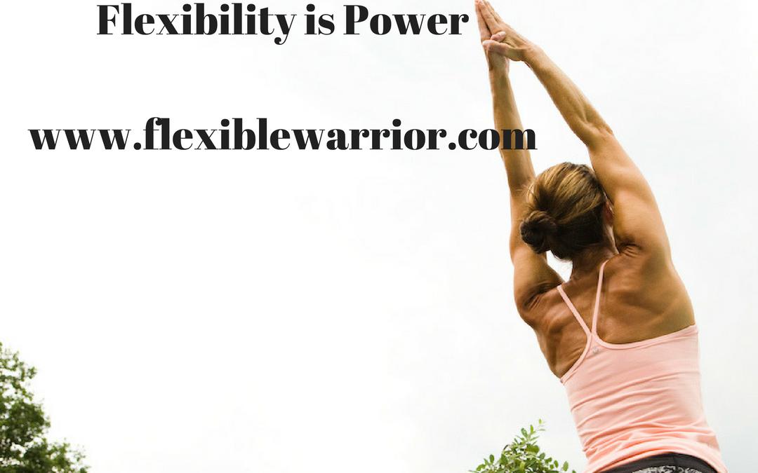 Flexible Warrior: Post Run Stretch