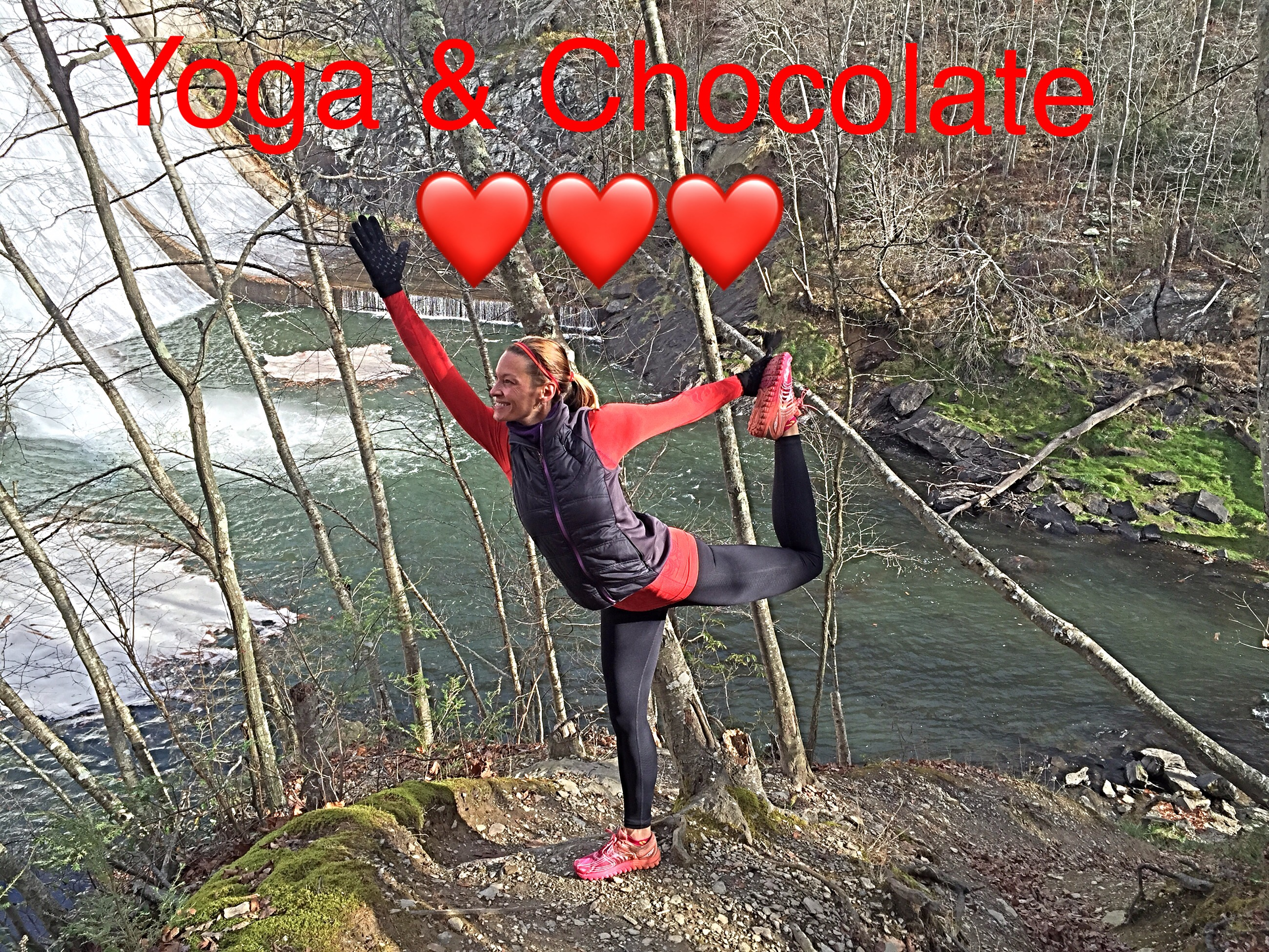 ❤️ Yoga & Chocolate ❤